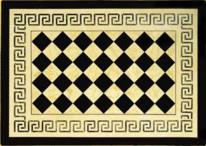 Michelle Hollick - Stenciled Floorcloths - Doylestown Traditional Artisan Show