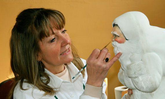 chalkware - Vaillncourt - Bedminster Traditional Artisan Show - Upper Valley University - Doylestown PA