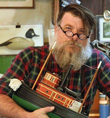 Geoffrey Davis - Pull Toys - Doylestown PA - Traditional Artisans Show